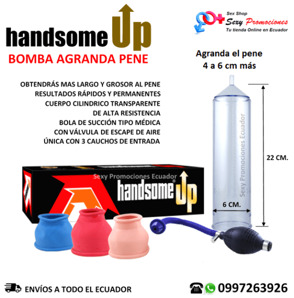 Bomba Agranda Pene Handsome UP