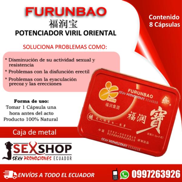 Potenciador Sexual Herbal Chino