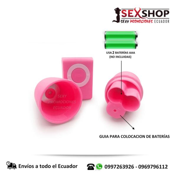 Huevo Vibrador Control Remoto Inalambrico - modo de colocar baterias