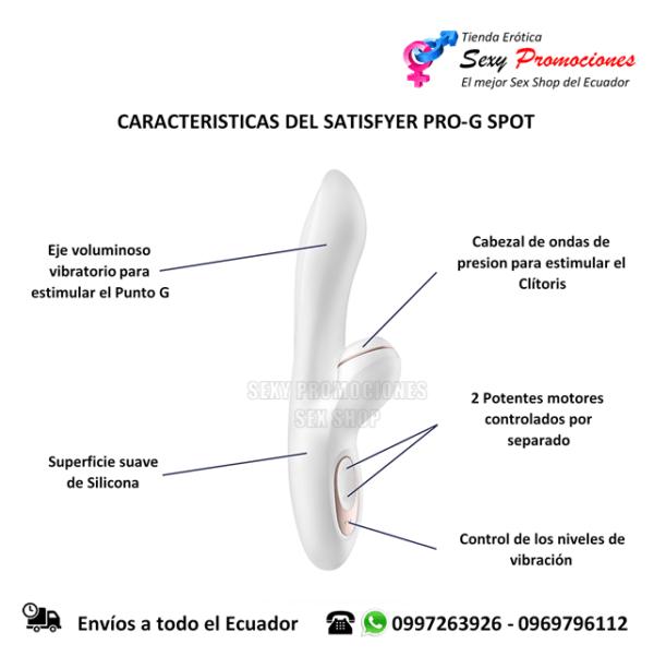 satisfyer pro g spot caracteristicas