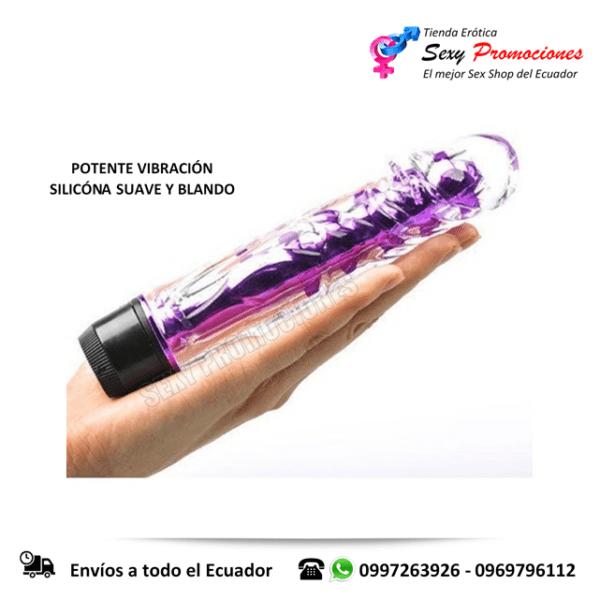 vibrador jelly silicona flexible